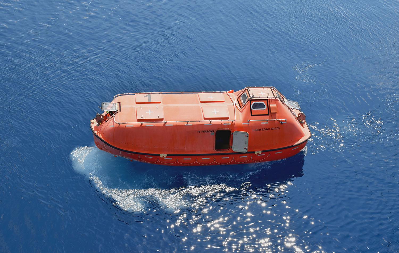 lifeboat - launching appliances